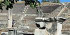 View: The Asklepion of Pergamon, Turkey