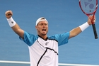 Lleyton Hewitt's win over Roger Federer in Brisbane on Sunday proved he can still be a threat to the very best. Photo / AP