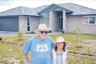 LIVING THE LIFESTYLE: Stan and Bette English have settled quickly into Papamoa.