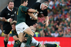 The All Blacks will meet South Africa at Ellis Park for a second straight year. Photo / Getty