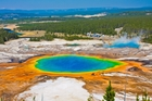 Yellowstone National Park holds scenic delights ... and a subterranean menace that could change our world. Photo / Getty Images