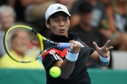 Before this week Yen-Hsun Lu had lost all 10 of his ATP quarter-finals. Photo / Getty Images