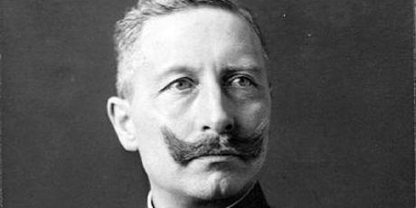 Former German emperor Kaiser Wilhelm II.