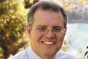 Australian Immigration Minister Scott Morrison.