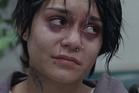 Vanessa Hudgens plays homeless pregnant teen Apple in Gimme Shelter.