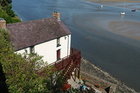 The Laugharne Boathouse, about 40km northwest of Swansea, where Thomas spent the last four years of his life. Photo / Thinkstock