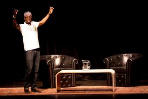 Nigerian poet Inua Ellams. Photo / Dean Purcell
