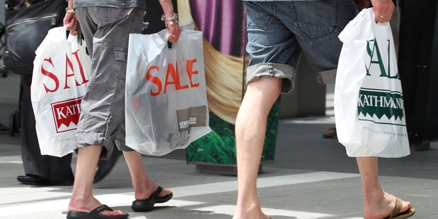 Retail sales are increasing amid upbeat consumer confidence. Photo / APN