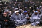 A screengrab taken from a video of Nigerian Islamist extremist group Boko Haram claiming to show the missing schoolgirls. Image / AFP/Boko Haram