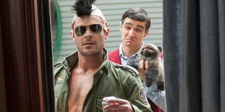 Zac Efron and Dave Franco in 'Bad Neighbours'. Photo / AP
