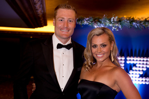 Martin Guptill and Laura McGoldrick had a taste of America recently.