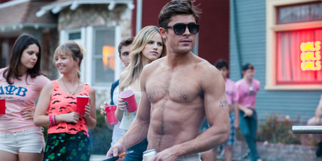 Zac Efron in 'Bad Neighbours'.