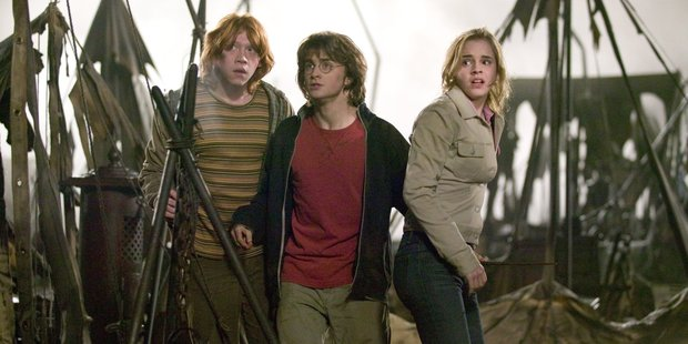 A scene from Harry Potter and the Goblet of Fire.