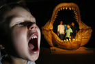 The megalodon monster shark exhibition. Photo / Steven McNicholl