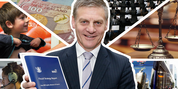 Finance Minister Bill English has delivered a Budget that includes a bigger-than-expected surplus. Photo / NZH, NA, Thinkstock