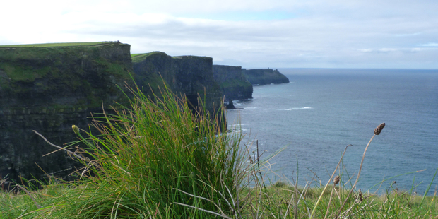 The mighty Cliffs of Moher are a must-see on any trip around southern Ireland. Photo / Megan Singleton