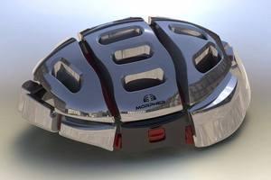 The Morpher Helmet. Photo / MorpherHelmet Facebook