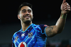 Shaun Johnson of the Warriors thanks the crowd after winning the round nine NRL match between the New Zealand Warriors and the Canberra Raiders. Photo / Getty Images.