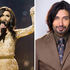 Conchita Wurst and model Colin Mathura-Jeffree both share well groomed facial hair. Photo / AFP, Chris Gorman