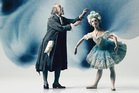 Sir Jon Trimmer and Lucy Green in Coppelia. Photo / Ross Brown