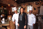 Minhaz Ahmed, Dimple Girish and Siva Kumar will delight you with their cuisine.  Photo / Doug Sherring