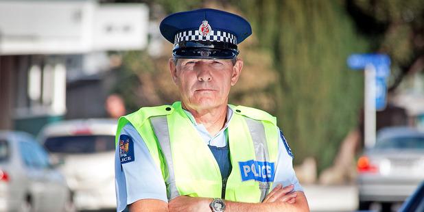 Head of Western Bay Road Policing Senior Sergeant Ian Campion.