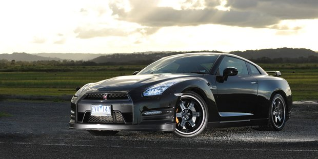 The mighty Nissan GT-R is a real attention-grabber. Photo: Iain Curry / Sunshine Coast Daily
