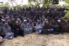 Still from video released by Boko Haram.