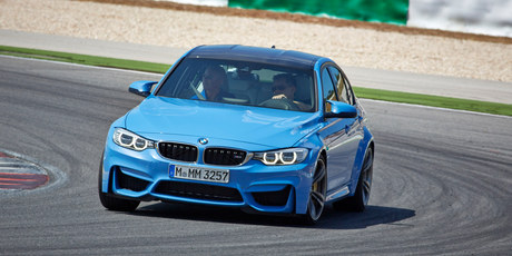 2014 BMW M3 at the launch in Portugal. Photo / Supplied