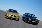 2014 BMW M4 Coupe and E30 M3 at launch in Portugal. Photo / Supplied