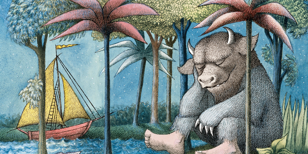 Samoan version of 'Where the Wild Things Are' by Maurice Sendak.