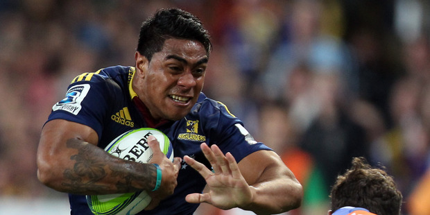 Malakai Fekitoa looks a player the All Black coaches would be comfortable starting at centre. Photo / Getty Images