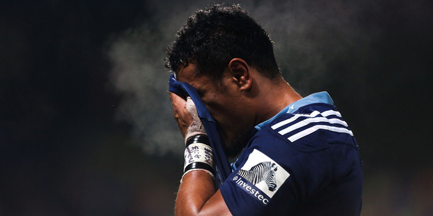 Jerome Kaino of the Blues. Photo / Getty Images