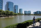 Oracle Corp headquarters in Redwood City, California. Oracle, the largest database-software maker, sought more than $1 billion in damages, claiming Google used Java code without paying. Photo / AP