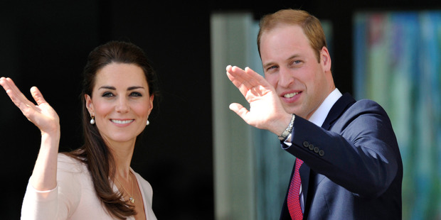 Prince William and his wife Kate, The Duchess of Cambridge, who opted for orthodontic 'micro-rotations' to give her the perfect smile. Photo / AP