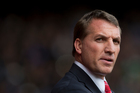 Liverpool's manager Brendan Rodgers. Photo / AP