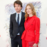 Supermodel Natalia Vodianova with partner Antoine Arnault at a charity dinner in Paris - she wears a striking Dior suit. Picture / AP Images