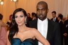 Kim Kardashian and Kanye West attend the MET Gala. Photo / AP