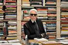 Fashion legend Karl Lagerfeld has unleashed his acid tongue. Photo / AP