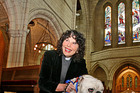 Whangarei's Christ Church vicar, Denise Kelsall, said she had blessed the marriages of gay people and hoped to continue. Photo / APN