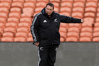 Steve Hansen announced his latest 36-strong training group yesterday. Photo / Christine Cornege