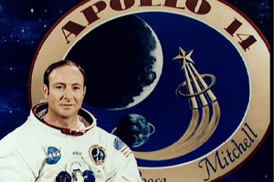 Astronaut Edgar Mitchell took the bible to the moon and back.