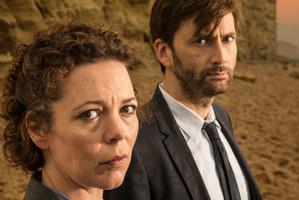 Rebecca Coleman and David Tennant perform well in Broadchurch.