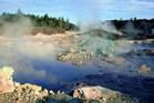 Rotorua Mud pools. Photo supplied by Rotorua Tourism