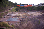 Three Kings Quarry in Auckland that is going to become a site for a residential housing development. Photo / Dean Purcell