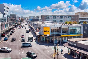 The award- winning ASB Bank building at Broadway, Newmarket is for sale.
