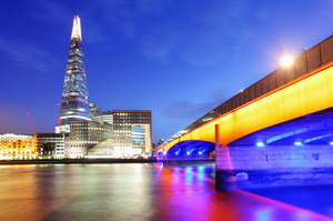 London's highrise Shard building. Photo / Thinkstock