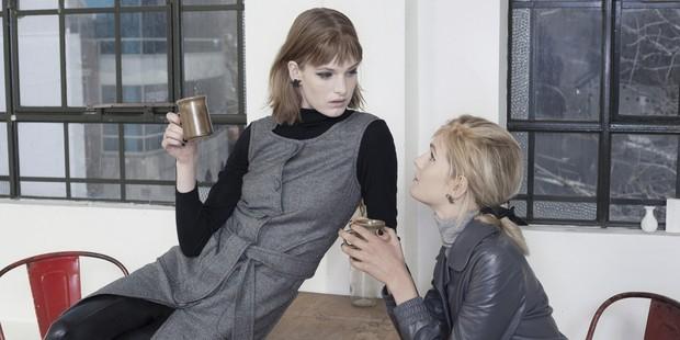 Designer Kate Sylvester's winter collection embraces Beat style. Picture / Karen Inderbitzen-Waller