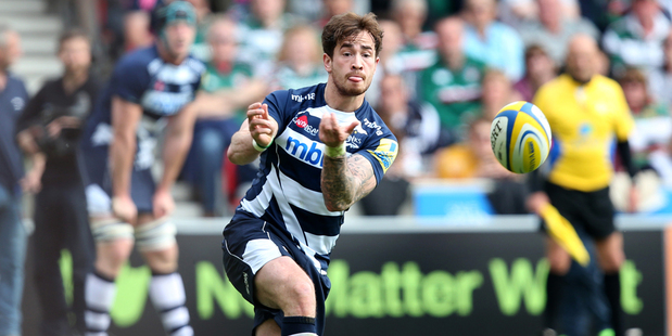 When Danny Cipriani was first selected for test duty, he was seen as the 'golden boy' of English rugby and the natural heir to Jonny Wilkinson. Photo / Getty Images