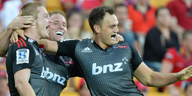 2014 is the season that just seems to keep giving for the Crusaders. Photo / Getty Images